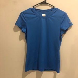 The North Face Vaporwick short sleeve shirt blue